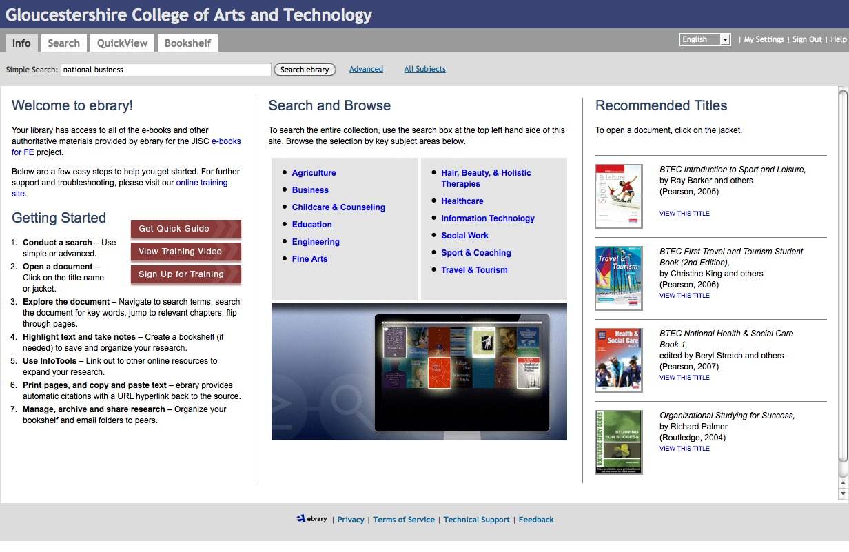 One Of The Disadvantages Ebrary Platform Was It Browser Based Though That Meant You Could Easily Access Collection Through A PC Or Mac